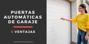 5 ventajas de las puertas automáticas para garaje